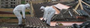 Rimozione tettoia cemento eternit
